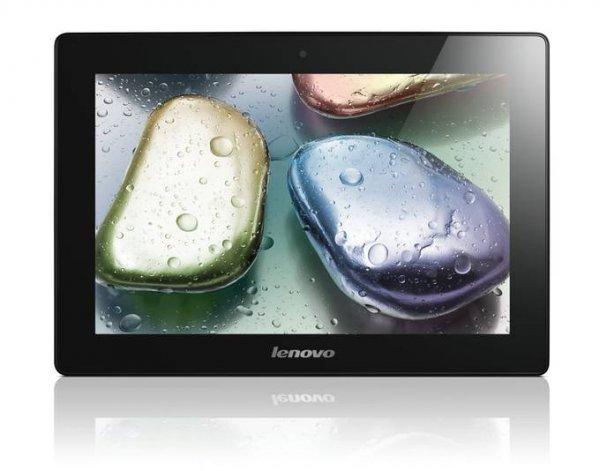 Lenovo IdeaTablet S6000-H 25,7 cm (10,1 Zoll mit IPS Technologie) Tablet-PC (QuadCore Prozessor 1,2GHz, 1GB RAM, 32GB eMMC, 5MP Kamera, UMTS, Android 4.2) @meinpaket 194€