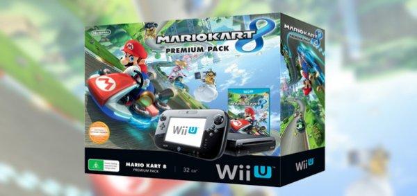 Wii U Mario Kart 8 Premium Pack inkl. 1 Gratis Spiel  Download 279,00 €