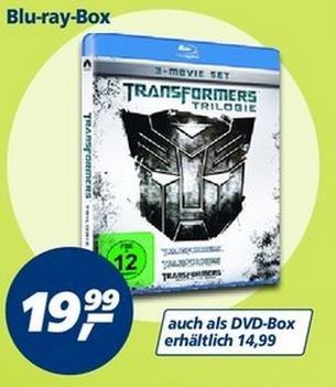 Transformers Trilogie Blu-Ray-Box bei real,- für 19,99€