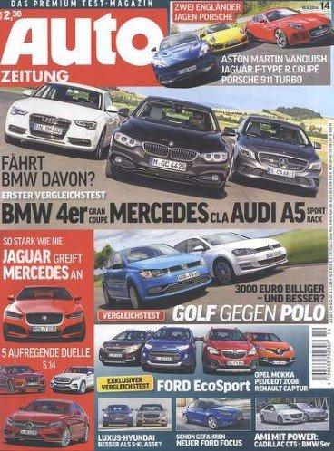 13x Auto Zeitung für effektiv 3,80€