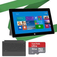 Microsoft Surface 2 32GB inkl. Type Cover & 32GB MicroSD Karte für 457€ @notebooksbilliger.de