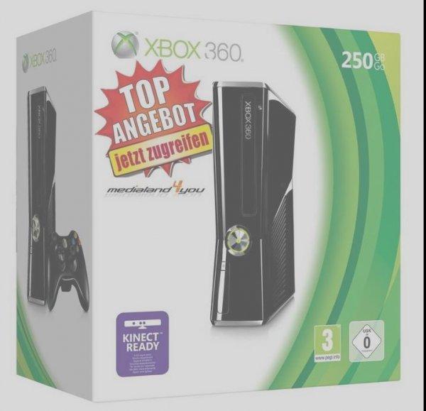 Xbox 360 - Konsole Slim 250 GB Mit Überraschungsspiel EUR 139,00 Ebay