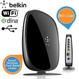 Belkin AC 1000 DB Wi-Fi Dual-Band AC + Gigabit Router für 55,90€ @ibood