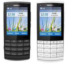 Details zu  Nokia X3-02.5 Touch and Type Dark and White für nur 59€