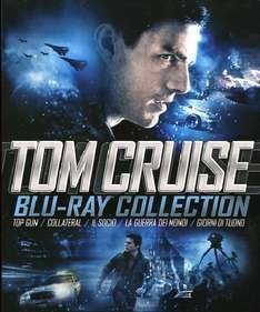 Tom Cruise Blu-ray Box (5 Filme) für 17,73€ inkl. Versand @ Amazon.es
