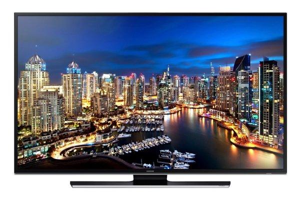 Samsung UE40HU6900 102 cm (40 Zoll) LED-Backlight-Fernseher, EEK B (Ultra HD, 200Hz CMR, DVB-T/C/S2, CI+, WLAN, Smart TV, HbbTV, Sprachsteuerung) schwarz für 959€ @amazon