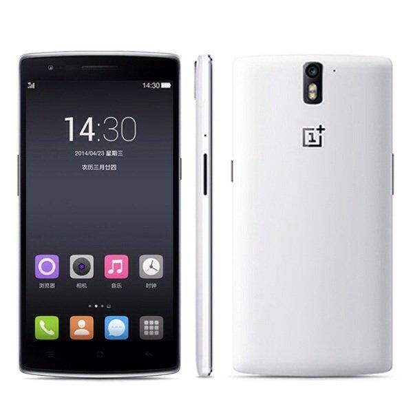 OnePlus One Smartphone 4G Quad Core 2.5GHz CM 11S 5,5 Zoll 16GB Version weiß OHNE Einladung sofort kaufen für 299 € inkl. Versand
