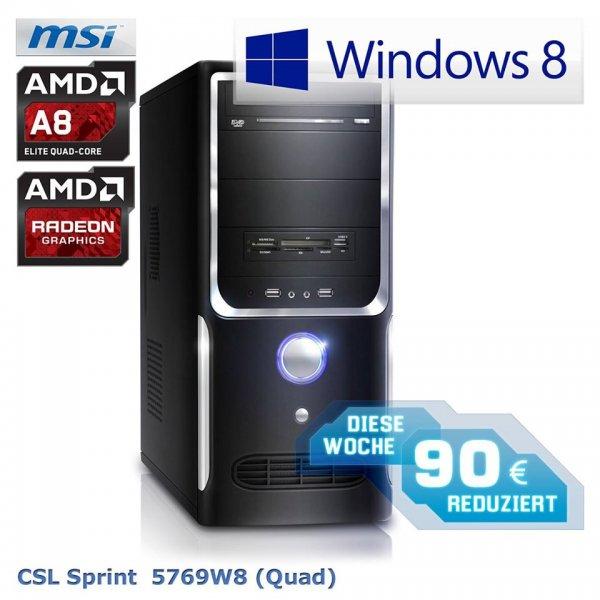 Desktop-PC CSL-Sprint-5769W8 (Quad)