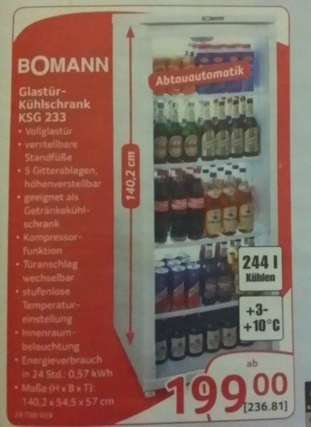 [Offline] Bomann KSG 233 Flaschenkühlschrank @Selgros Cash&Carry
