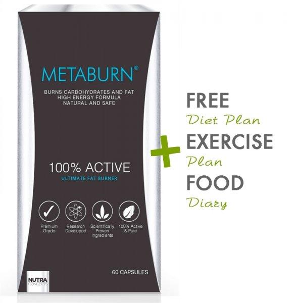 METABURN FAT BURNER für 35,99 Pound mit Code