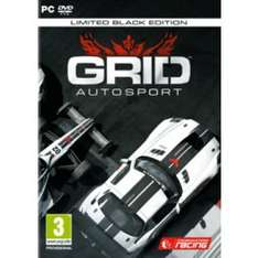 GRID Autosport Black Edition Steam Key für 20€