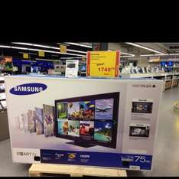 Samsung LED TV UE75F6370 Einzelstück Metro Berlin Spandau