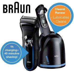 Braun 350cc-4 Rasierer mit Clean & Renew Station für 65,90€@ iBOOD