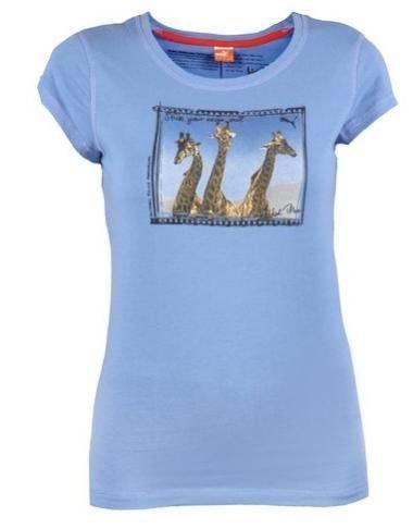 Puma Vintage Giraffe - Damen T-Shirt blau