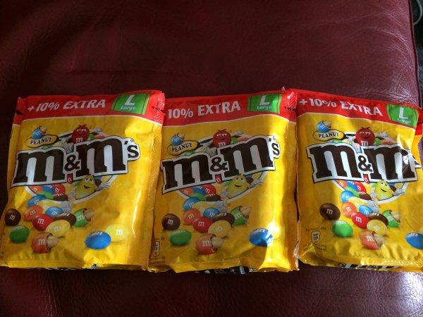 M&M's Large + 10% Extra für 1,07 € (lokal Metro Neuss)