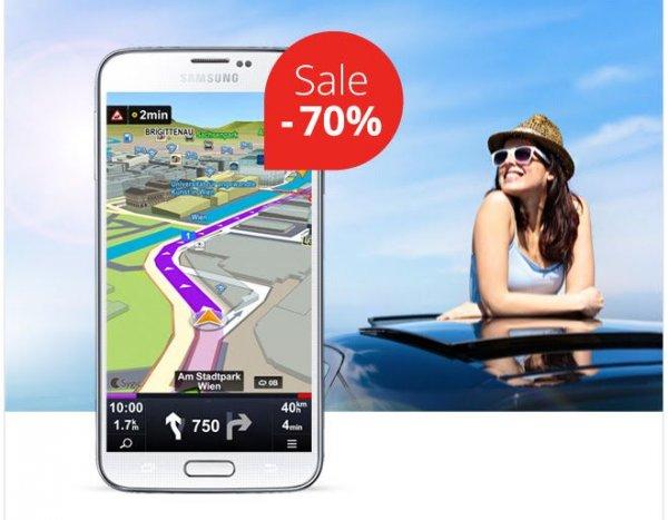 """(Android/IOS) Sygic Navi """"Super Sale"""" - bis zu 70% (für Europa + Russland)"""
