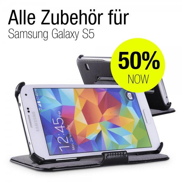 50% Rabatt auf die ganze Reihe an EasyAcc Zubehörteilen für das Samsung Galaxy S5!!
