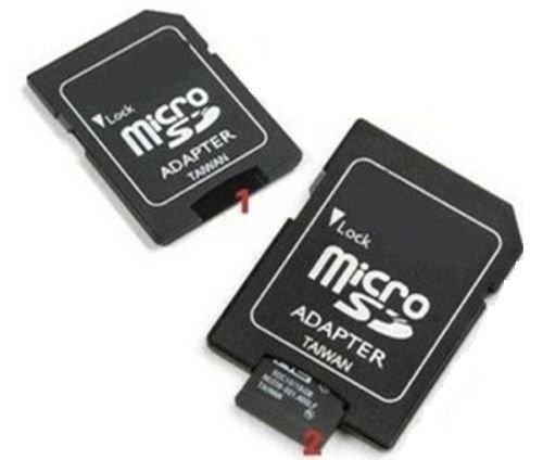 Micro SD HC Flash Memory Card 64 GB Speicherkarte inkl. Adapter, ohne VSK