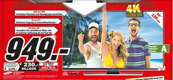 (Media markt Lokal) Samsung UE50HU6900 126 cm (50 Zoll) 4K Led Tv  33330 Gütersloh