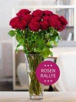 Rote Rosen Rallye -  aktuell 15 Rosen (bis 17 möglich)  für 15,80€ mit Qipu nur 14,69€ verlängert bis morgen!