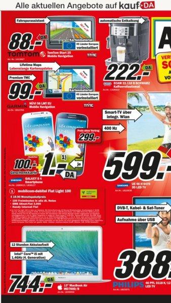 Garmin NÜVI 56 LMT EU für 99,- im Media Markt Köln Kalk