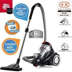 Dirt Devil M3250 Black Label MC 1 mit 1400 Watt Hochleistungsmotor für 119,95€@iBOOD