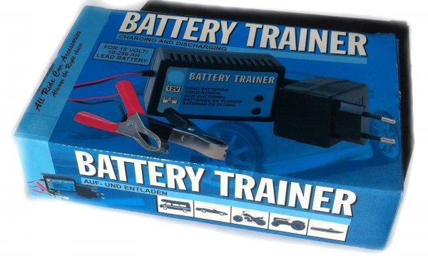 12V Batterietrainer 5 - 250AH Akku Batterieladegerät Trainer KFZ Boot Saison