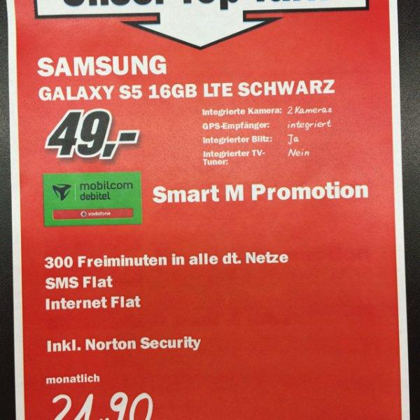 Samsung Galaxy S5 für 49€