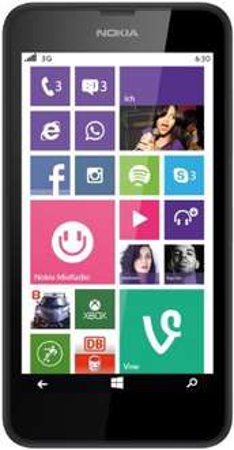 amazon - Nokia Lumia 630 Dual-SIM Smartphone schwarz