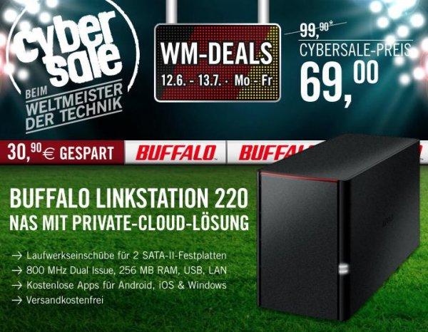 Buffalo LinkStation 220 - Leergehäuse für 69€ - Start der WM Deals bei Cyberport