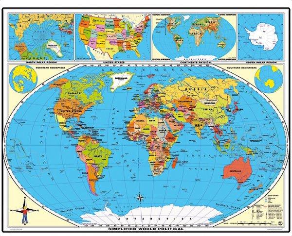 [geosmile.de] Landkarten-Ausverkauf: Karten und Globen