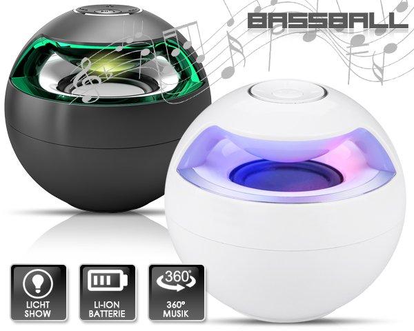 BASSBALL 360 GRAD SPEAKER MIT ULTRA BASS von 119,95 € nur 46,95 inkl. VSK