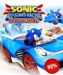 STEAM - Gamersgate Sonic-Sale / Sonic-Allstars Racing Transformed für 1,25€ möglich [Mit RU-VPN]