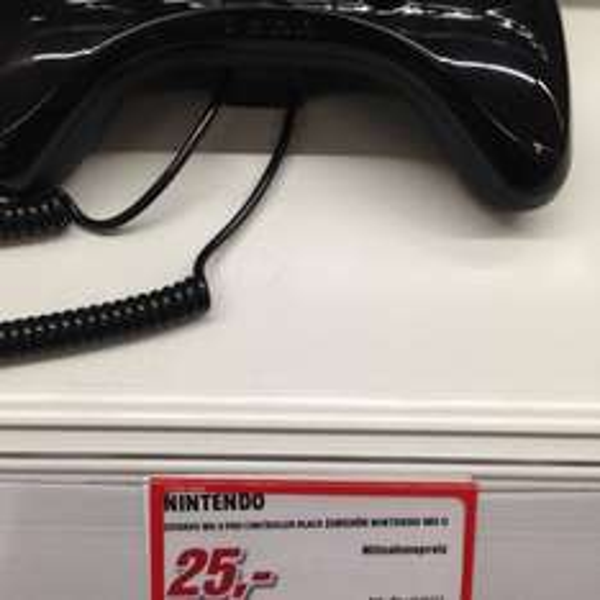 Wii U Pro Controller 25€ Media Markt Hallstadt