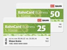 Probe Bahncard 25 /50  25€ /95€