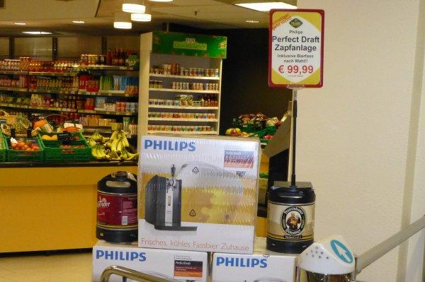 Phillips Perfect Draft HD3620 für 99,99 € inkl. Fass im Center Parc Hochsauerland