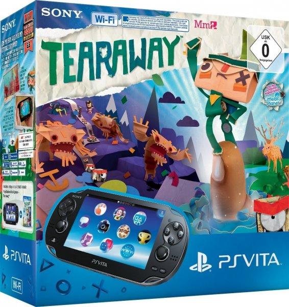 Amazon WHD PlayStation Vita (WiFi) inklusive Tearaway ab 107,99€