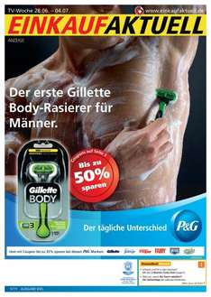 Gillete BODY Rasierer 4 MEN