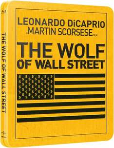[Media-dealer.de] The Wolf of Wall Street Steelbook [Blu-ray] für 18,98€
