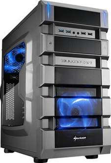"Sharkoon Midi-Tower ATX ""BD28 gunmetal edition"" für 39,99€ @ ZackZack"