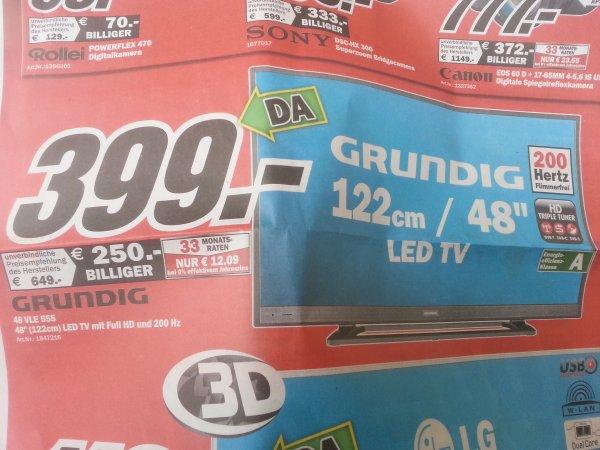[Lokal Ludwigshafen] Media Markt - 30.06 - Grundig 48 VLE 555