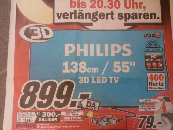 [Lokal Ludwigshafen ] Media Markt - 30.06 - Philips 55 PFK 6409