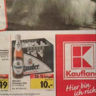 [Lokal] Kiste Stauder für'n 10er bei Kaufland in Hattingen