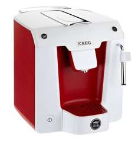 ( Saturn Super Sunday)  AEG FAVOLA LM 5100RE Espresso-Kaffeekapselautomat + 12 Kapseln für 19€