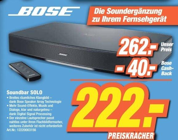 [Expert Neueröffnung 03.07]Bose Solo TV Sound System für 262€(-40€ Casback)=222€ Lokal [Bonn & Ahrweiler]