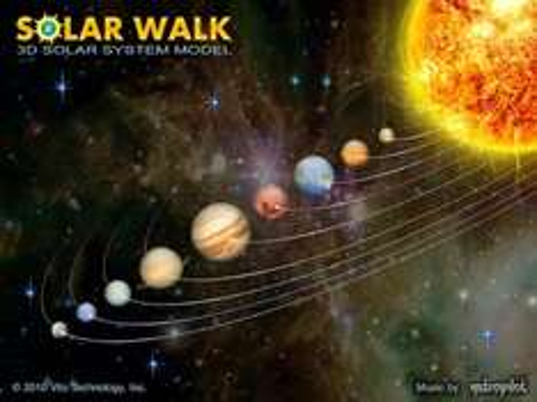 App des Tages: Solar Walk Planeten für Android kostenlos, statt 14,10€