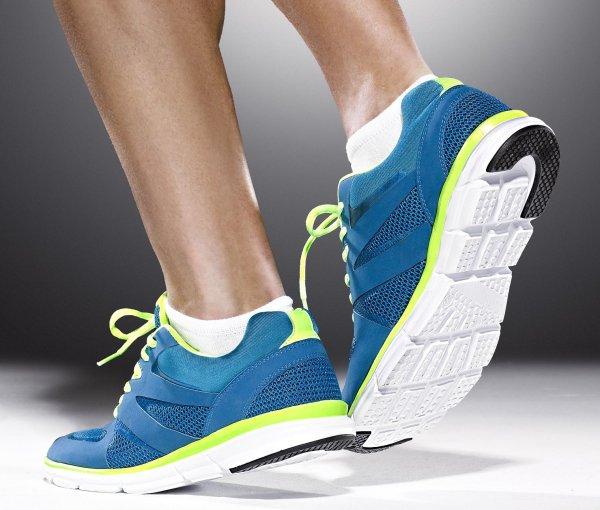 Laufschuhe mit Barfuß-Lauf-Effekt (Größen 42,43,44,45) für 12€ zzgl. 4,95€ Versand @Tchibo