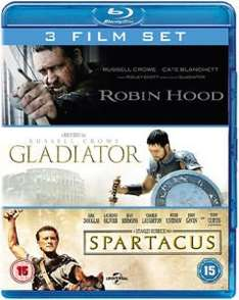 [Blu-ray] Gladiator / Spartacus / Robin Hood @ Zavvi