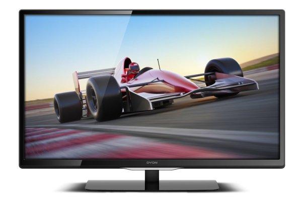 Dyon Enter 48+ 122 cm (48 Zoll) LED-Backlight Fernseher, EEK A (Full HD, CI+, DVB-S2/-C/-T, Hotel-Modus) schwarz
