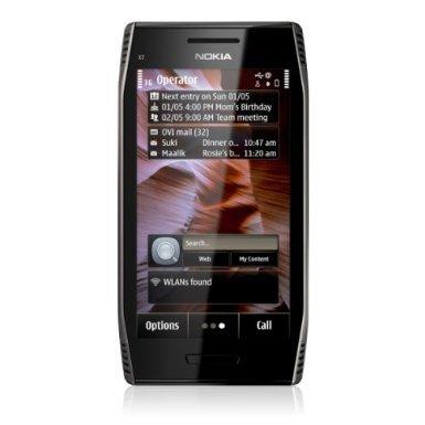 Nokia X7-00 silber für Euro 95,10 incl. Versand über amazon Marketplace